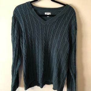 Green Croft&Barrow sweater